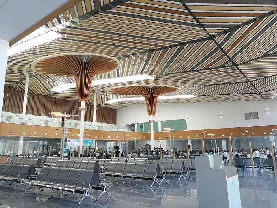 巴拉望的國際機場今天開幕囉!