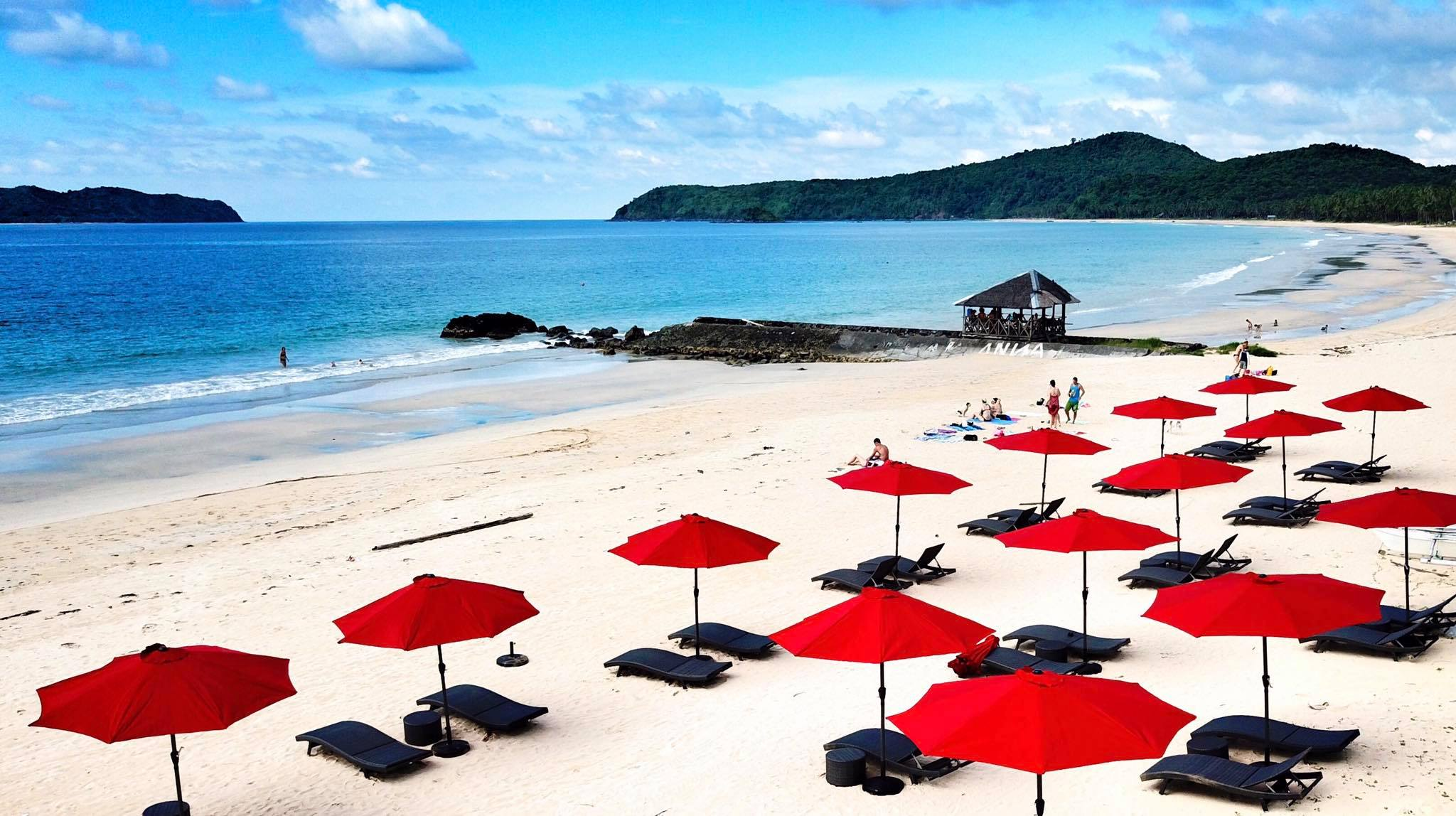 菲律賓公認最美的第一名沙灘的Nacpan Beach