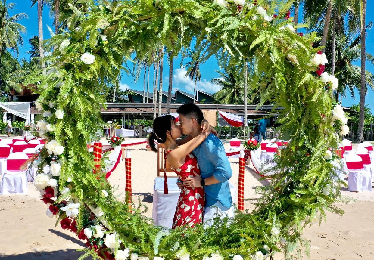 愛妮島海灘婚禮