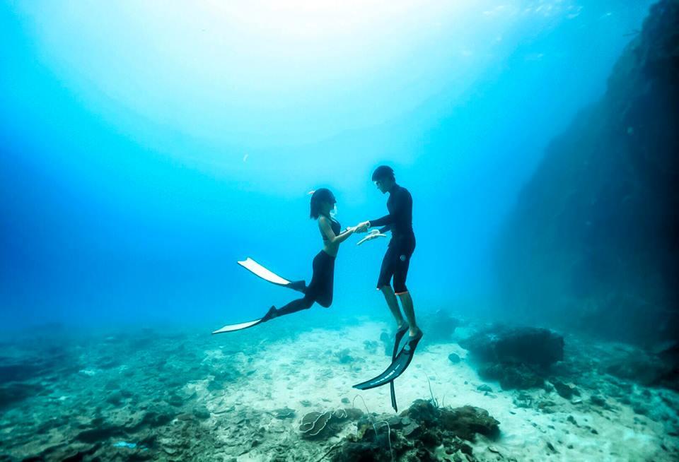 我們愛妮島的日常:Freedive