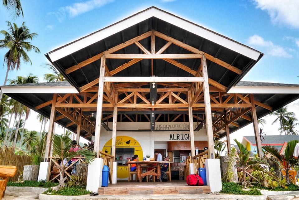 愛妮島優質住宿推薦:Nacpan Seaside Hue