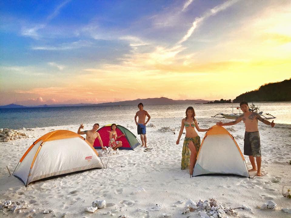 愛妮島景點大推薦:無人島搭帳篷露營