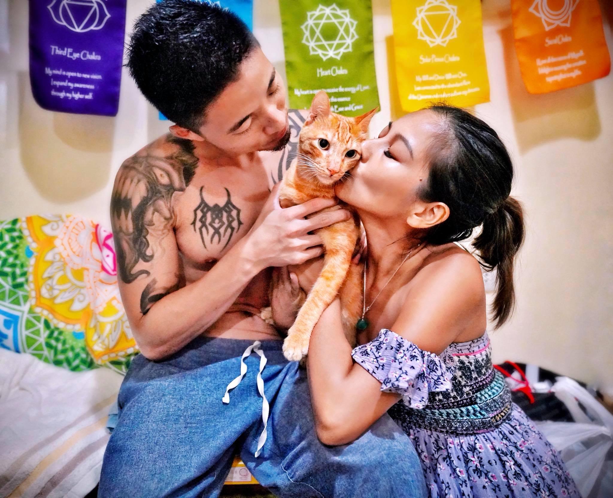 菲律賓巴拉望最幸福最多愛的貓,生日快樂兒子!