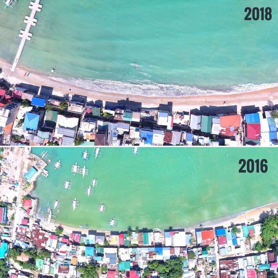 一個總統,一個政策,乖乖的讓人類把沙灘還給了自然