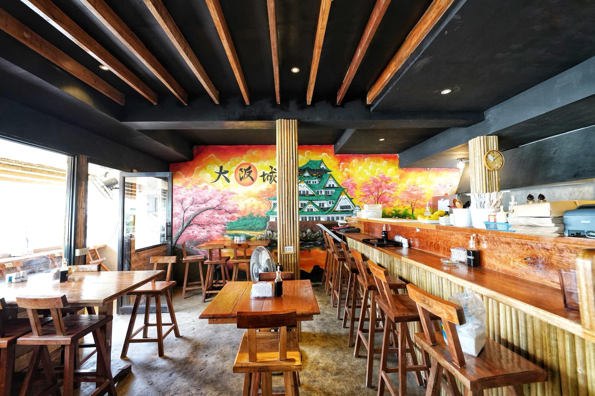 愛妮島唯一真正日本人開的日本料理