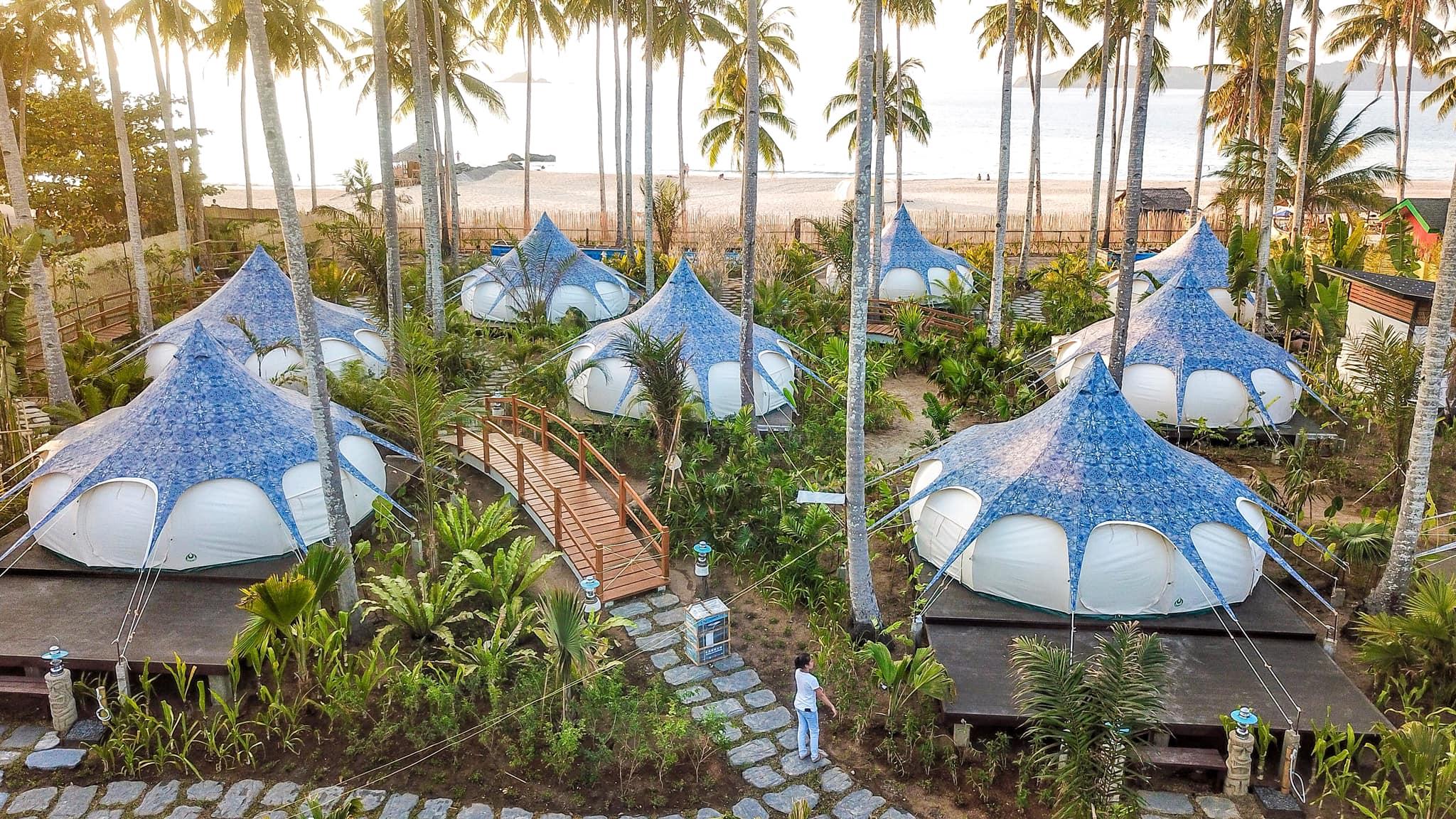 愛妮島住宿新選擇:蓮花帳篷旅館