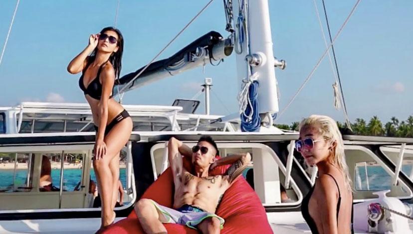 愛妮島私房景點:雙體帆船