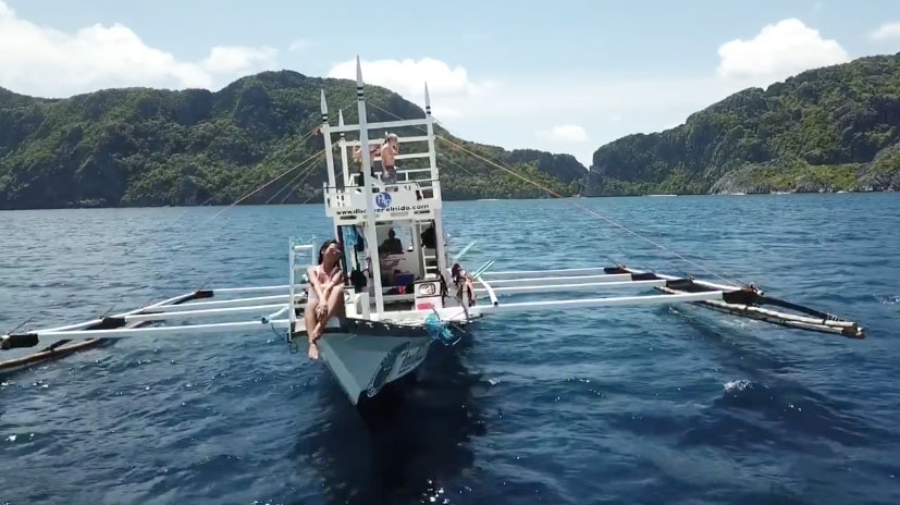 我們愛妮島的日常 : 包船出海