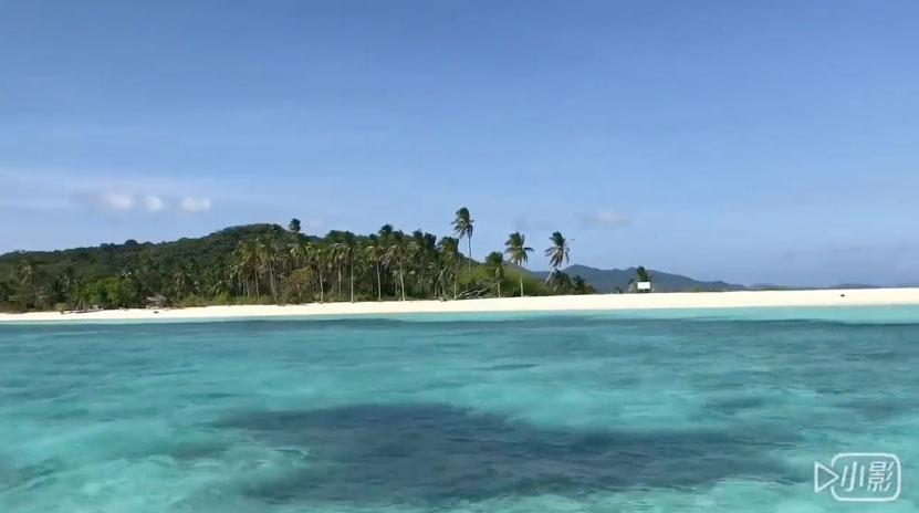 愛妮島私房景點:秘密白沙天堂